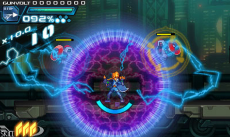 Azure Striker Gunvolt - Screen